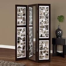 hanging room divider panels triple panel floor collage a great alternative to the headache of