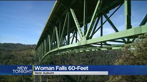 Auburn California Wildfire by Woman Who Fell While Taking Selfie On California Bridge Won U0027t Face
