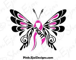 breast cancer svg etsy