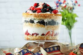 dutch farms lemon angel food cake and berry trifle
