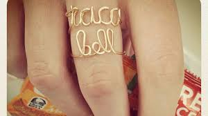 rings bell images Taco bell rings continues the confusing fast food jewelry trend jpg