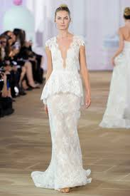 11 unexpected bridal trends from fall 2017 bridal week