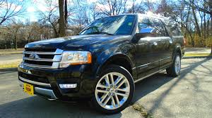 ford expedition interior 2016 2016 ford expedition platinum el review youtube