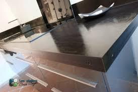 plan de travail cuisine en béton ciré les ateliers brice bayer architecture d intérieur plan de