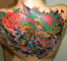 snake tiger tattoo monkey tiger and snake new tattoo on full back best