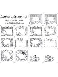 quilt labels page 1