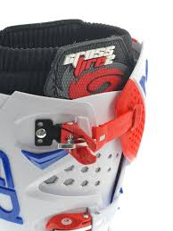 motocross boots sidi sidi red white blue crossfire 2 srs mx boot sidi