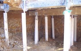 helical piers pilings for housing raising u0026 support