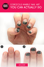 gorgeous marble nail art you can actually do fitness magazine