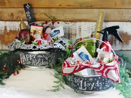 creative gift baskets hostess gifts in a paint can lowe s creative idea pretty handy
