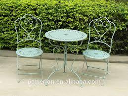outdoor metal bistro table outdoorlivingdecor