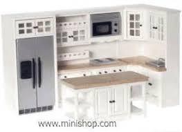 kitchen dollhouse furniture 1 12 dollhouse miniature integral kitchen furniture