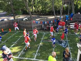 8 000th wish ryan feeney u0027s backyard football field new england