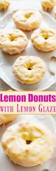 baked lemon donuts with lemon glaze averie cooks