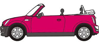 pink mini cooper mini cooper convertible png clipart download free images in png