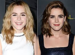 blonde to brunette hair kiernan shipka dyes her hair brunet for the emmys instyle com
