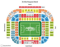 tottenham wembley seating plan away fans old trafford guide manchester united fc football tripper