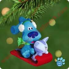 2001 blues clues hallmark ornament