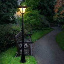 solar powered outdoor l post lights solar backyard lights tips that will guide you in choosing outdoor