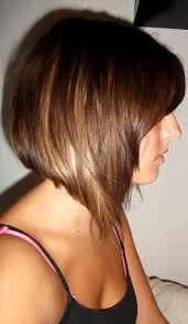 side view of blended wedge haircut quick easy graduated bob hair style for women hairstyles weekly
