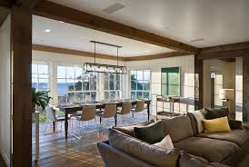 long dining room light fixtures beachy lighting fixtures dining room beach style with wood paneling