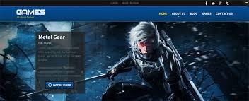 games w3layouts com free games website templates 20 free css 23