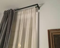 Return Rod Curtains Curtain Rod Ends Etsy
