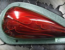 airbrush class on painting automotive flames with automotive