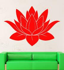 wall stickers vinyl decal lotus flower buddhism symbol of purity wall stickers vinyl decal lotus flower buddhism symbol of purity talisman ig2310