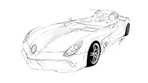 mercedes rough sketch wip by khoasv on deviantart