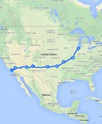 map your usa road trip five great summer road trips rei co op journal