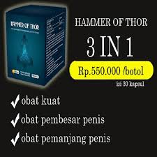 jual new hammer of thor original gold forex 500 mg obat