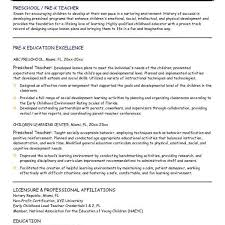 pre k teacher resume hitecauto us