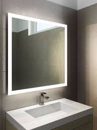 bathroom cabinets halo light mirror illuminated bathroom mirror