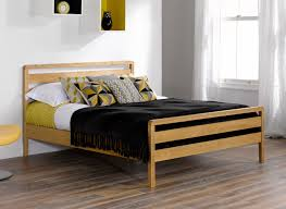 Wood Bed Frames Awesome Double Bed Frame For Shared Room Design Theydesign Net