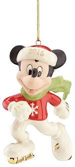 lenox 2015 disney s to the rink mickey ornament