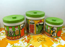 colored kitchen canisters 78 best housewares canisters images on vintage