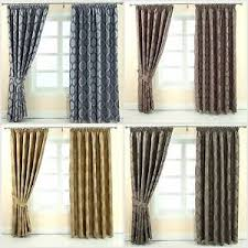 Grey And Purple Curtains Pencil Pleat Fully Lined Ready Made Jacquard Curtains Blue Gold