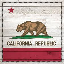 california wood scrapbook customs state sightseeing california wood flag paper
