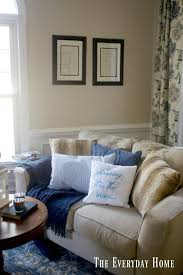 Winter Home Decorating Ideas Cozy Winter Decor In The Living Room The Everyday Home