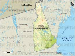 Physical Map Of Canada by Geoatlas United States Canada New Hampshire Map City