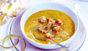 cuisiner des ecrevisses recette crème de légumes d hiver au safran et aux écrevisses