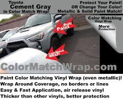 sample color match wrap body paint color matching vinyl wrap