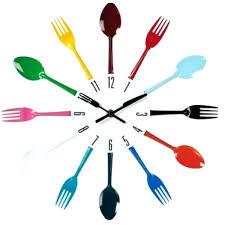 pendules de cuisine horloge de cuisine originale horloge murale pour cuisine pendules