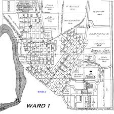 Chicago Ward Map Kinsource 1914 Map Of Mankato Ward 1