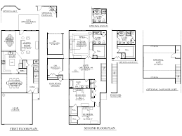 small duplex floor plans offset duplex house plan with rear decks 46272la narrow lot loversiq