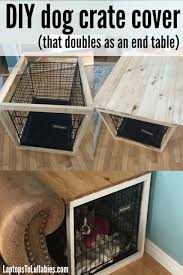 Dog Crate Dog Crate Cover Puppies Pinterest Crate | laptops to lullabies diy dog crate cover animals pinterest