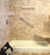 Bath To Shower Acrylic Shower Walls Vs Tile Shower Walls