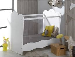 chambre roumanoff lit bébé estrella blanc