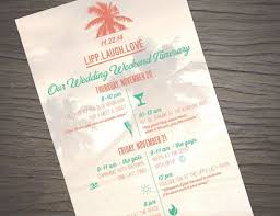 destination wedding itinerary 34 best wedding welcome bags images on wedding
